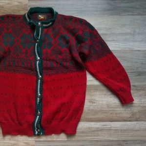 Vintage Fine Womens Apparel Alps Wool Sweater Med